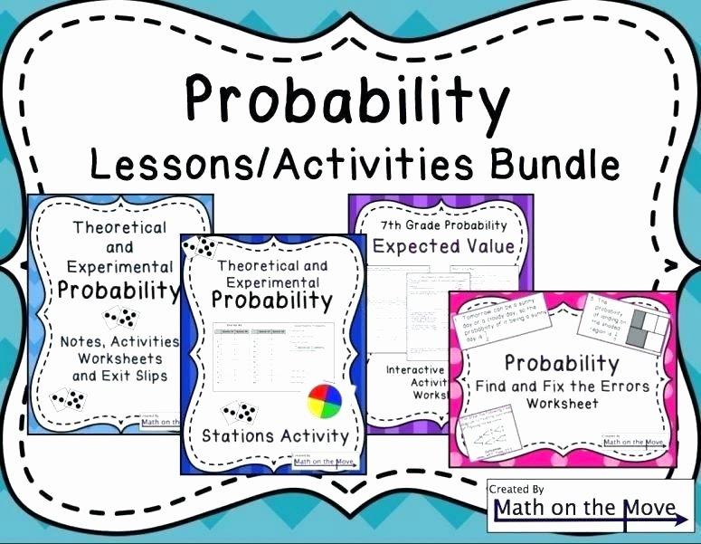 Conditional Probability Worksheet Kuta Probability Worksheets Pdf Small Size A Math Beautiful Grade