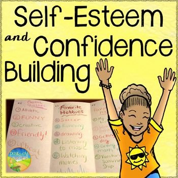 Confidence Building Worksheets New Self Esteem and Confidence Building