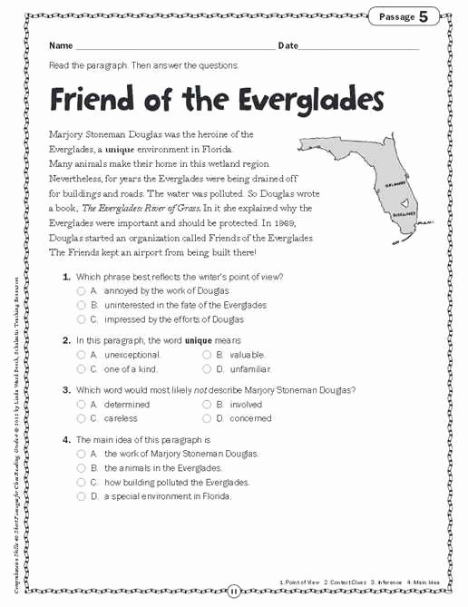 Confidence Building Worksheets Unique 7th Grade English Reading Worksheets – Math Worksheets