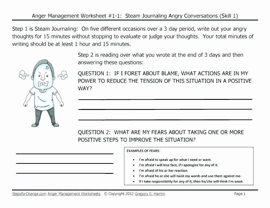 Conflict Resolution Worksheets for Students A Role Play Activity to Teach Conflict Resolution Counseling