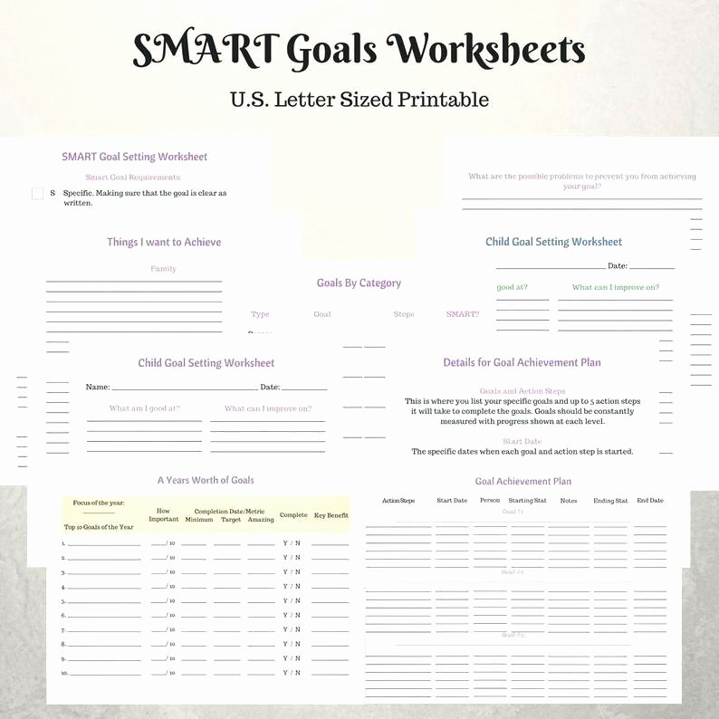 Conflict Worksheets Pdf Smart Goal Setting Worksheets Smart Goal Setting Worksheet Pdf