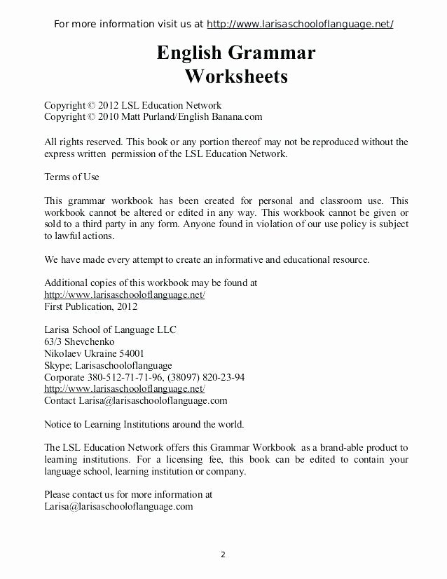 Conjunction Worksheet 3rd Grade Grammar Grade Worksheets Conjunctions for 6 Grade 6