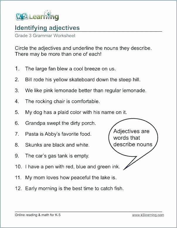 Conjunction Worksheet 3rd Grade Thanksgiving Worksheets Grade 1 – Ideahatch