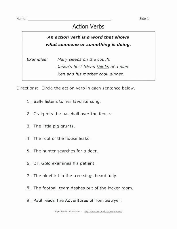Conjunction Worksheet 5th Grade 5th Grade Grammar Worksheets Pdf Eets Fifth Nouns for All