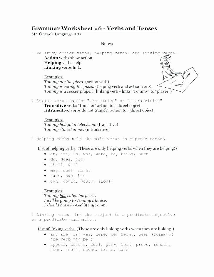 Conjunction Worksheets 6th Grade Grammar Grade Worksheets Conjunctions for 6 Grade 6