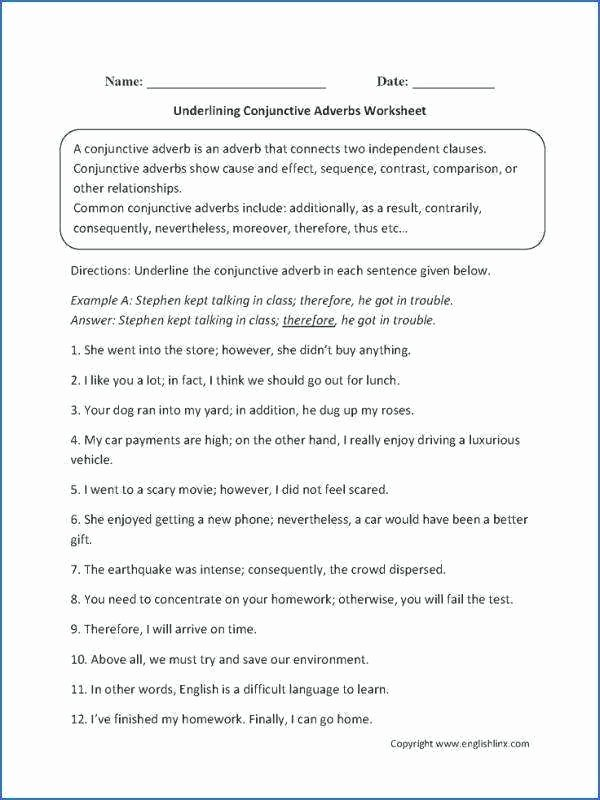 this conjunctions worksheet directs the student to identify and conjunctive adverb in each given hyperbole worksheets pdf 5th grade