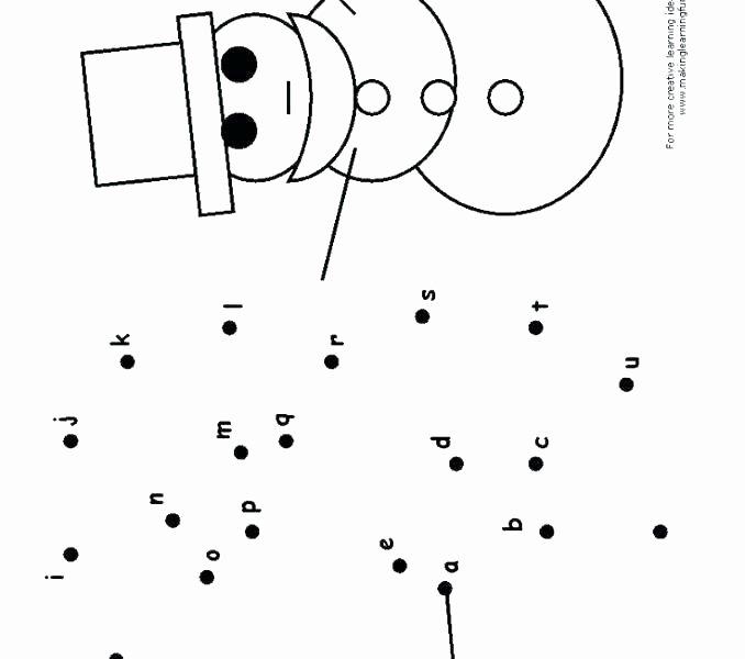 Connect the Dots Christmas Printables Dot Kindergarten to Worksheets Connect the Dots Printable