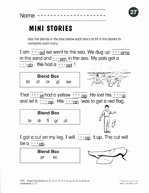 Consonant Blends Worksheets 3rd Grade Blends and Digraphs Worksheets