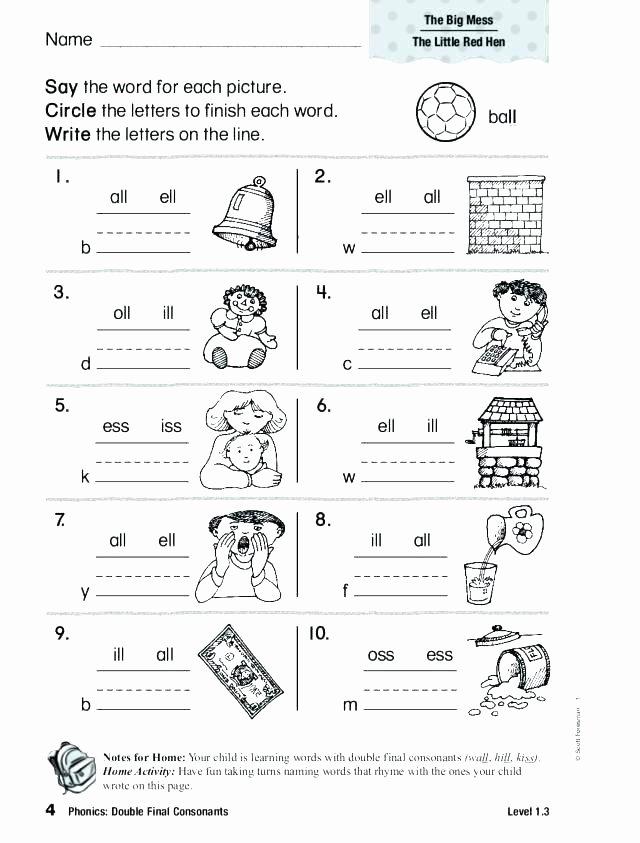 Consonant Blends Worksheets 3rd Grade Consonant Blends Worksheets for Grade 3 Digraphs A Three