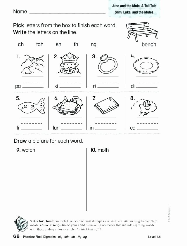 Consonant Blends Worksheets 3rd Grade Digraph Blends Worksheets Consonant Blends Worksheets Words