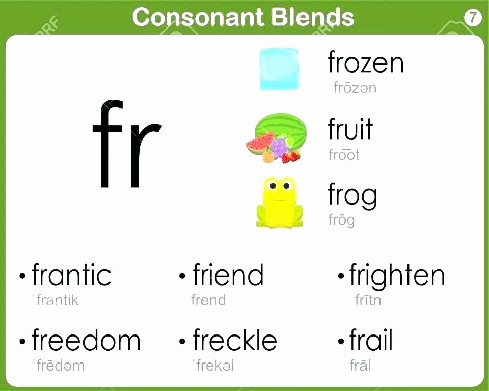 Consonant Blends Worksheets 3rd Grade Hooked On Phonics Free Printable Worksheets