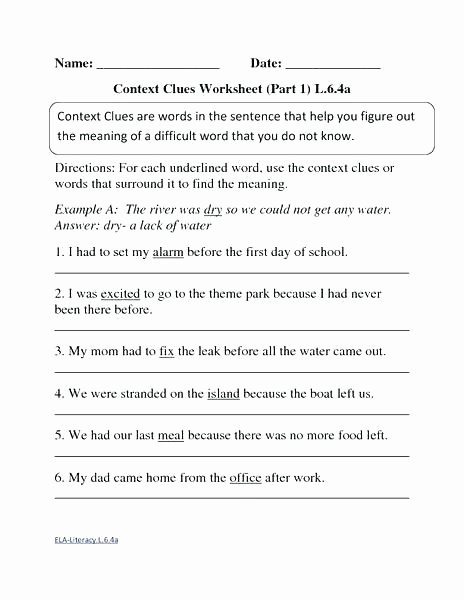 use context clues to determine the meaning of unknown words worksheet part 1 activities project for worksheets grade what is a