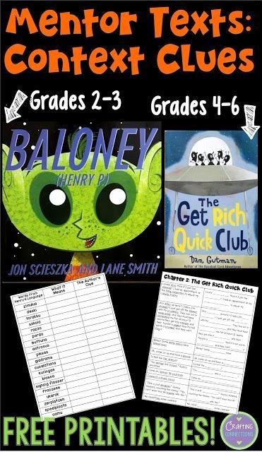 Context Clues 5th Grade Worksheets Pin On Reading