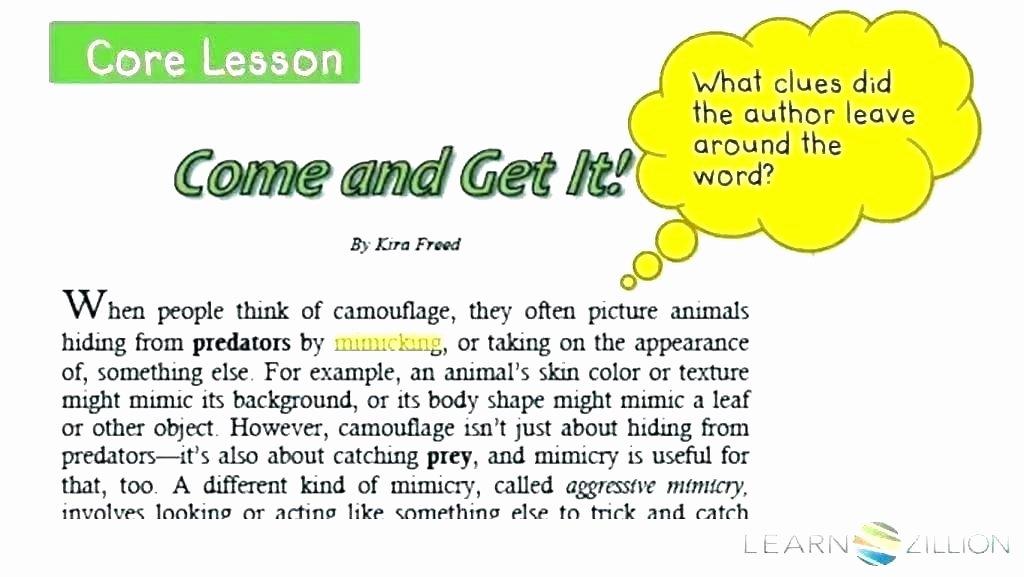 Context Clues Worksheets 1st Grade Context Clues Snapshot Image Context Clues Worksheet
