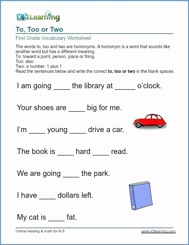 Context Clues Worksheets 1st Grade Context Clues Worksheets for Grade 1st Telling Time Word