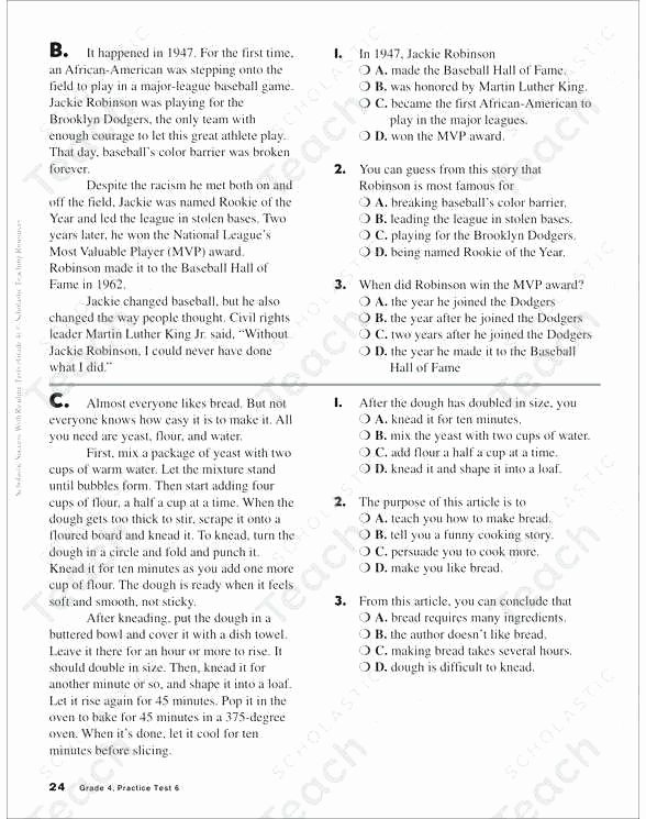 Context Clues Worksheets 1st Grade Free Reading Worksheets for 1st Grade Inspirational First