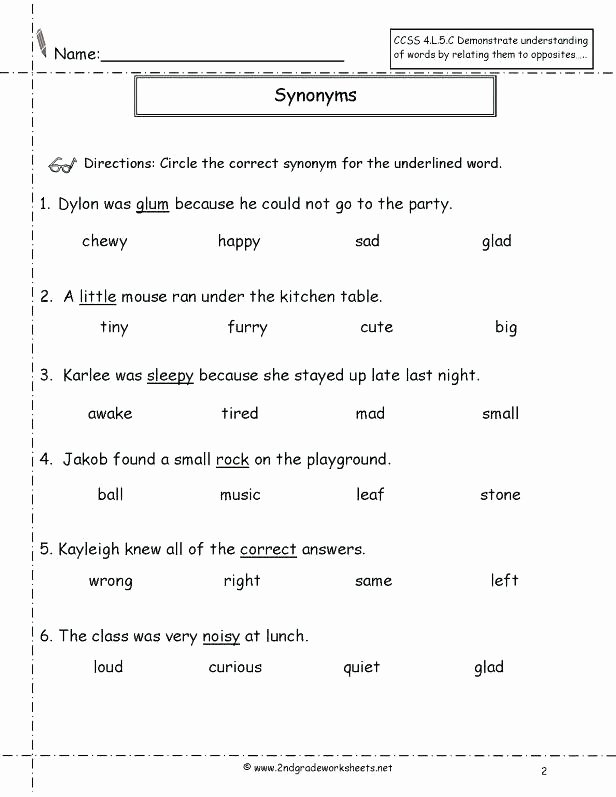 Context Clues Worksheets 1st Grade Multiple Choice Context Clues Worksheets Teaching Middle