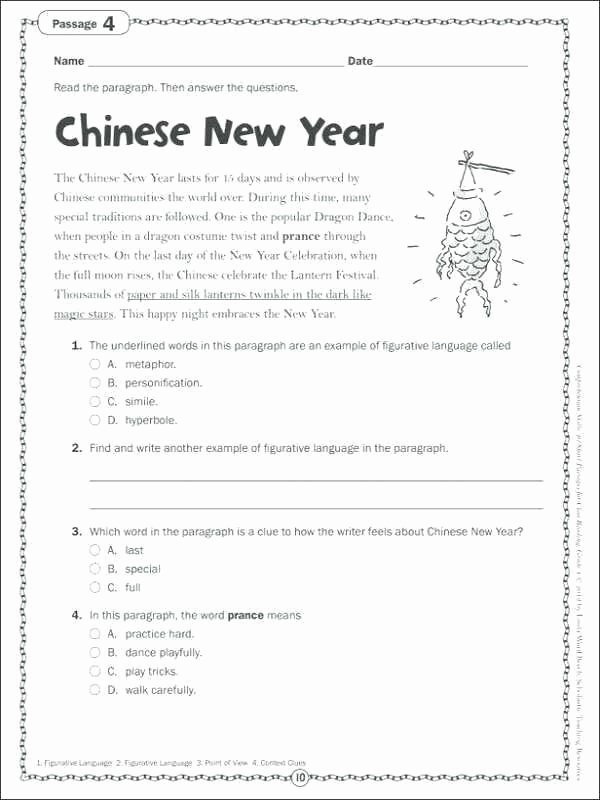 Context Clues Worksheets Grade 5 Context Clues Worksheets 4th Grade Pdf Best Multiple Choice
