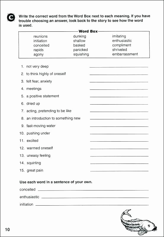 Context Clues Worksheets Grade 5 Context Clues Worksheets Grade 6 for Meaning High Lovely Clu