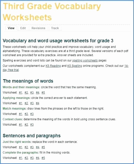 Context Clues Worksheets Second Grade Context Clues Worksheets 6th Grade Pdf