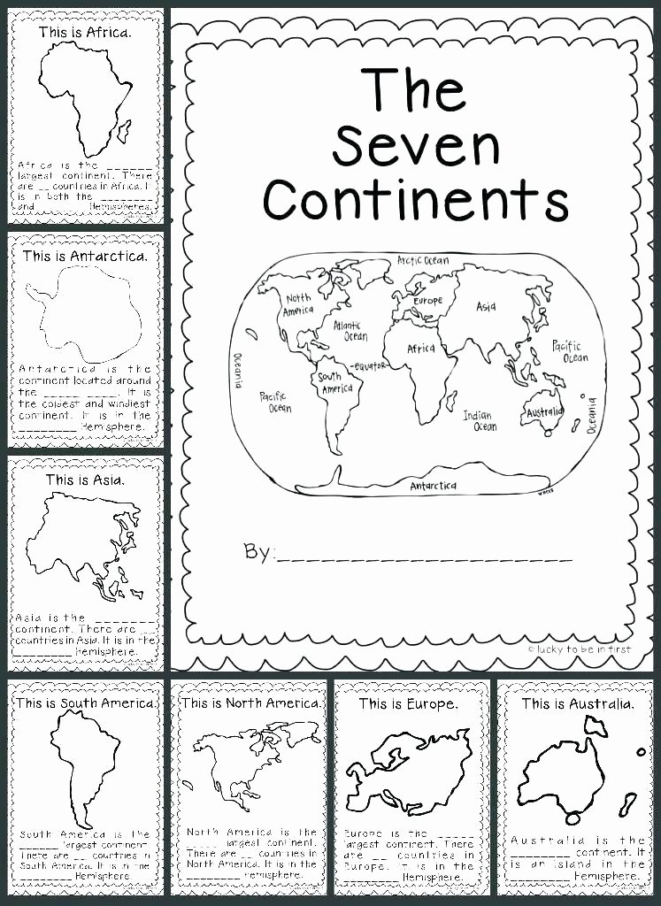 Continents and Oceans Worksheet Printable Geography Blog Worksheets Continents and Oceans World Free