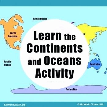 Continents and Oceans Worksheet Printable Maps Of Continents – Zetavape