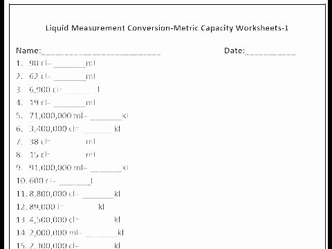 Conversion Worksheets 5th Grade Customary Units Of Weight Worksheets