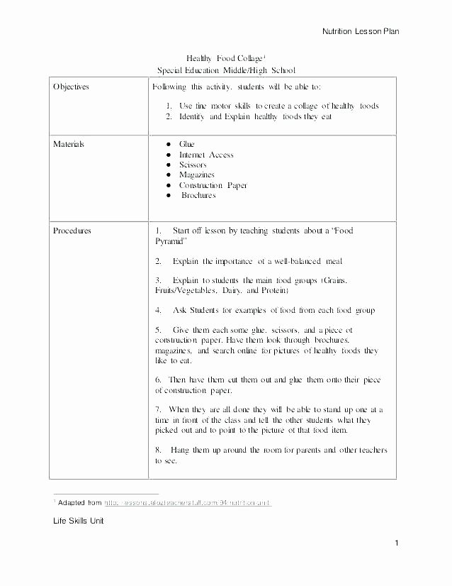 Cooking Worksheets for Middle School Fruit Worksheets for High School