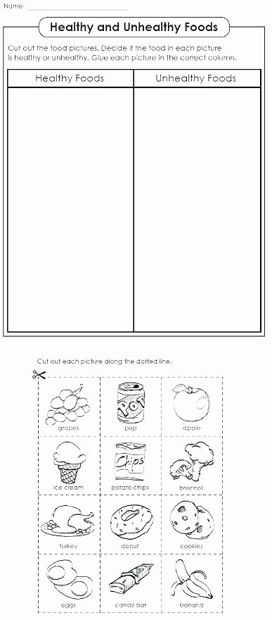 Cooking Worksheets for Middle School Middle School Nutrition Worksheets – Primalvape