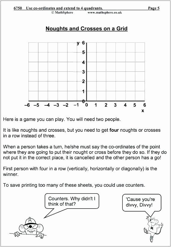 Coordinate Graph Worksheets Coordinate Art Worksheets