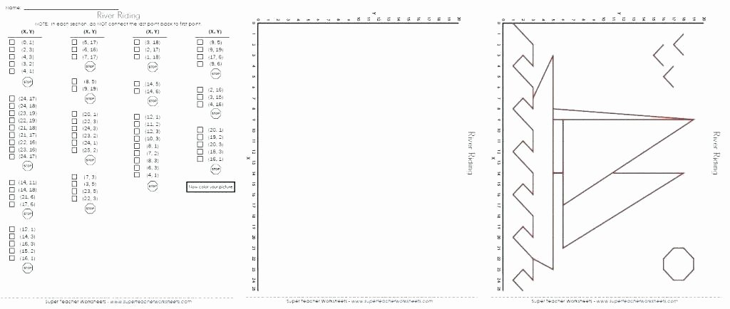 Coordinate Grid Map Worksheets Halloween Graphing Worksheets