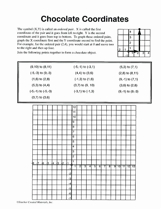 Coordinate Grid Pictures 5th Grade Math Grid Worksheets
