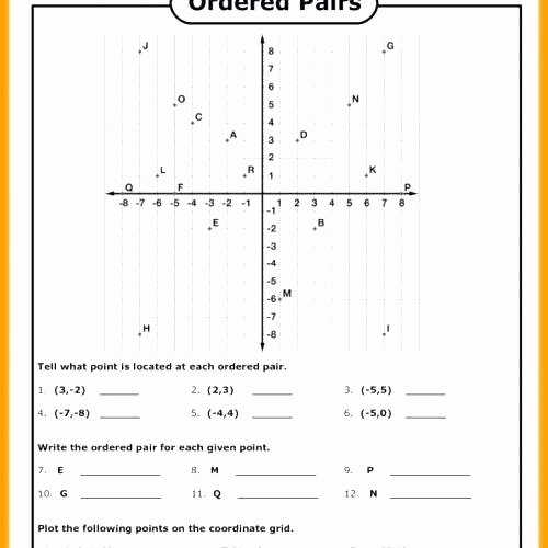 Coordinate Grid Worksheet 5th Grade Coordinate Grid Worksheets for Grade the Best Image Picture