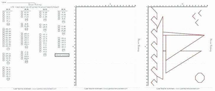 Coordinate Grid Worksheets 5th Grade Coordinate Graphing Worksheet Redwoodsmedia
