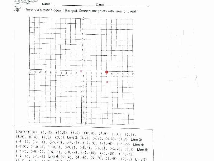 Coordinate Grid Worksheets 5th Grade Free Collection 8th Grade Graphing Worksheets Pdf 8th Grade