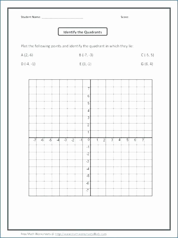 Coordinate Grid Worksheets 5th Grade Mystery Worksheets for Middle School