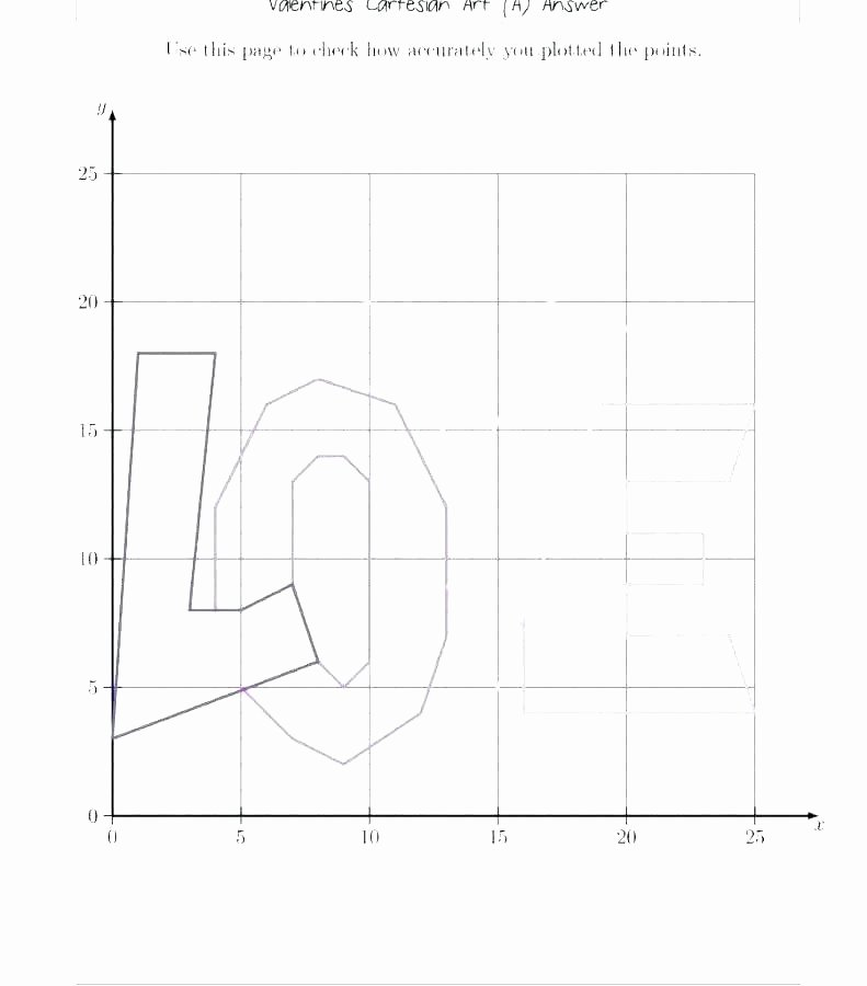 Coordinate Grid Worksheets 6th Grade Coordinate Graphing Worksheets