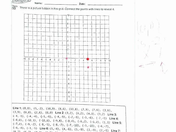 Coordinate Grid Worksheets 6th Grade Coordinate Grid Shapes Worksheet Worksheets 6 Multiplication