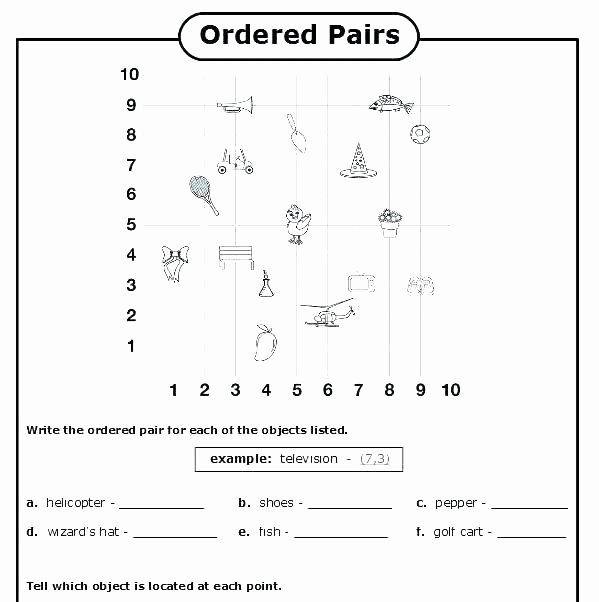 Coordinate Grids Worksheets 5th Grade Coordinate Grid Worksheets – Silversearchfo