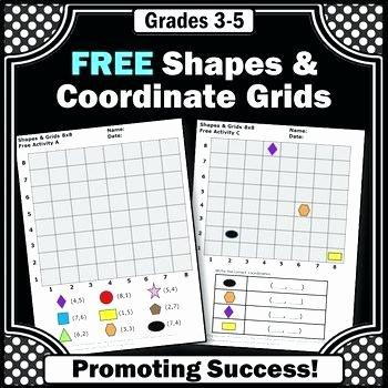 Coordinate Grids Worksheets 5th Grade Free Coordinate Grid Worksheets