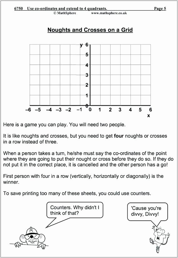 Coordinate Pictures Worksheet Coordinate Grid Worksheets Mystery Picture Download Plane