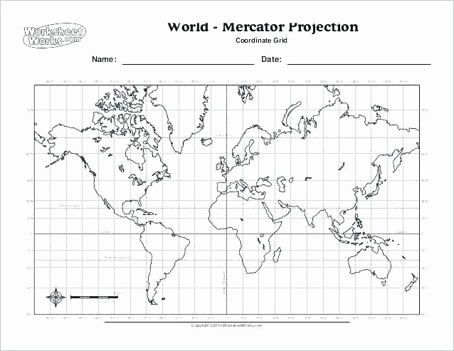 Coordinate Pictures Worksheet Map Grid Worksheets Free World with Coordinates Worksheet