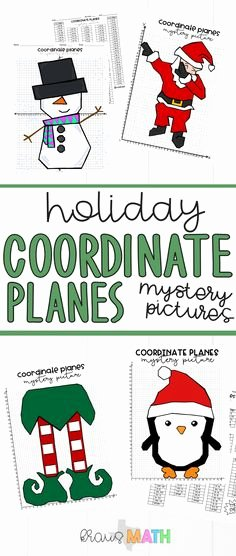 Coordinate Plane Christmas Pictures 326 Best 5th Grade Math Images In 2019