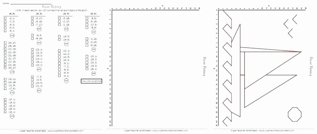 Coordinate Plane Christmas Pictures Holiday Graphing Worksheets