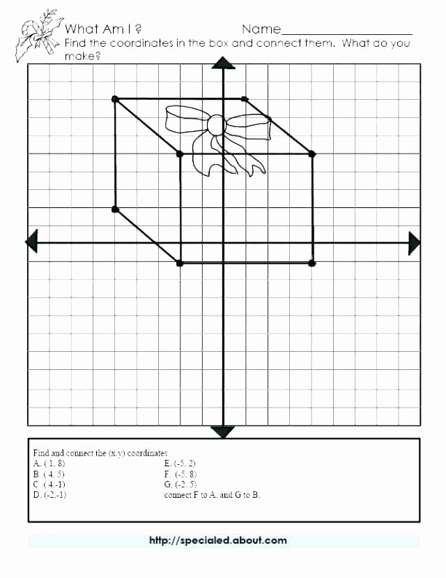 Coordinate Plane Worksheets Middle School Coordinate Plane Worksheets Middle School Mystery Graph Art