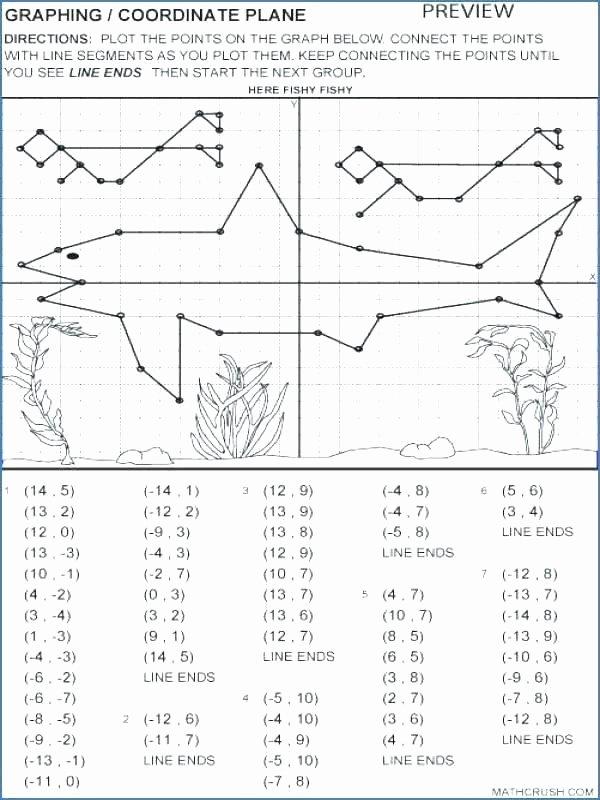 Coordinate Plane Worksheets Middle School Free Printable Coordinate Graphing Worksheets
