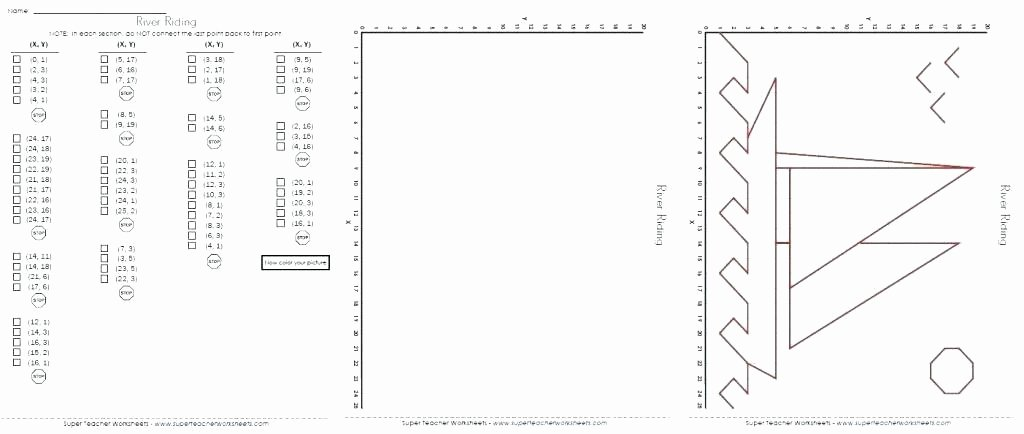 Coordinate Worksheet Pictures Coordinate Art Worksheets