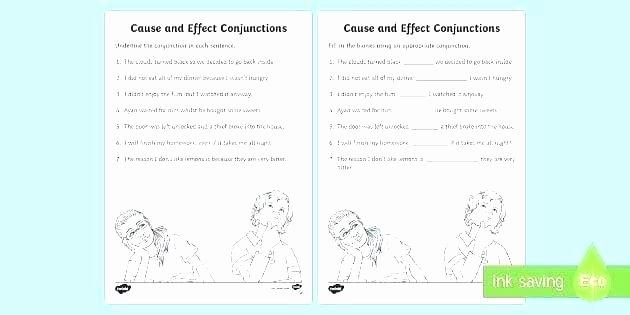 Correlative Conjunctions Worksheet 5th Grade Conjunction Worksheets for High School Other Conjunctions