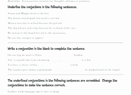 Correlative Conjunctions Worksheets Pdf Conjunction Worksheets 5th Grade – butterbeebetty