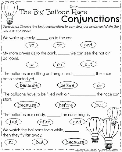 Correlative Conjunctions Worksheets Pdf Conjunction Worksheets